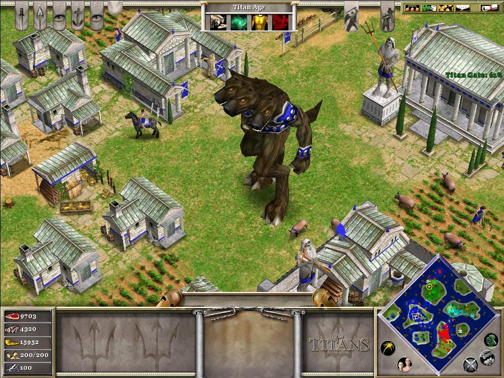 Age of Mythology The Titans - PC Full Version Game Free Download