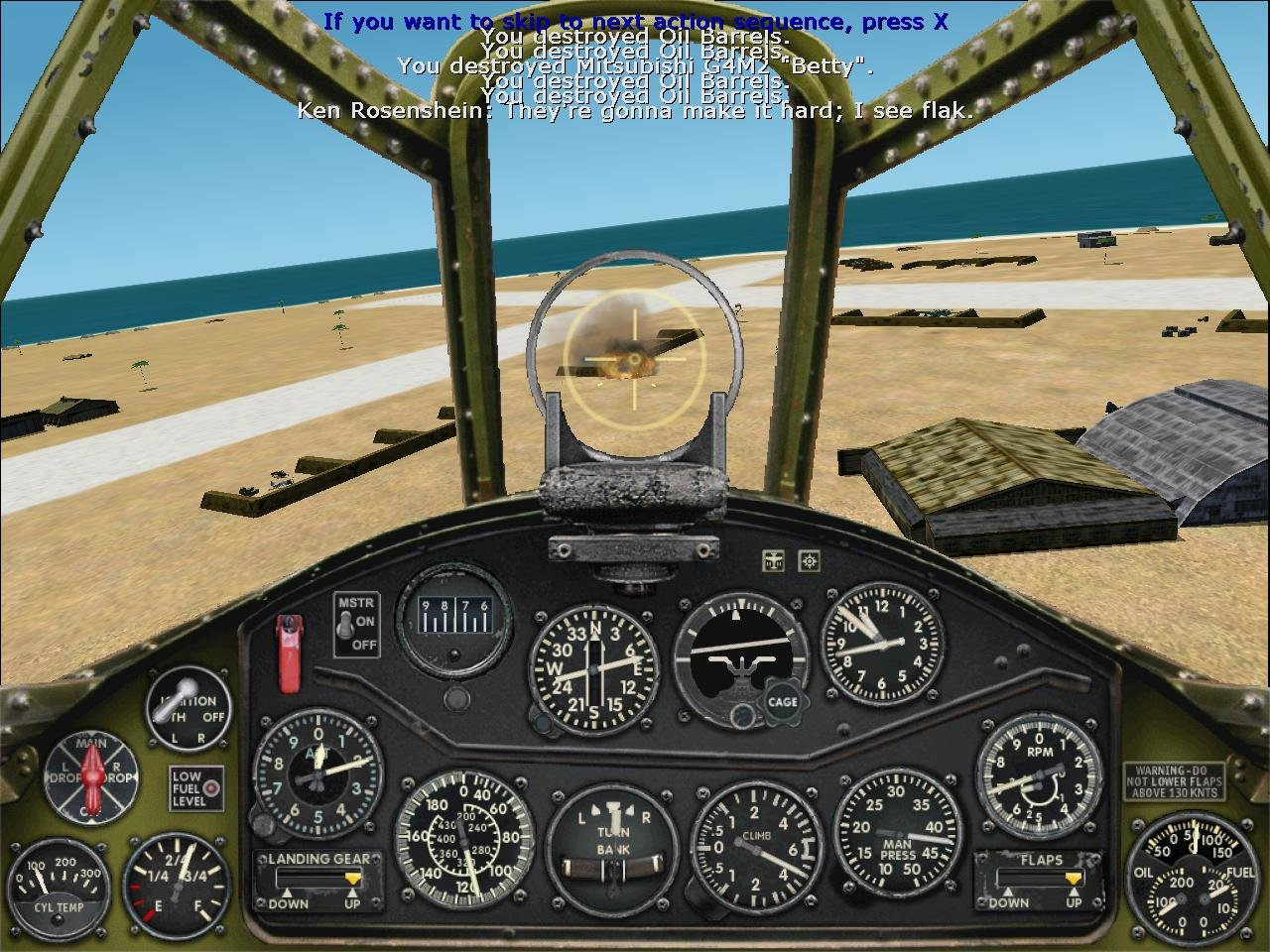 Microsoft combat flight simulator 2015 crashes