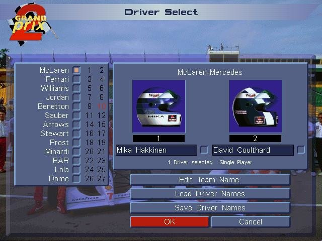 grand prix 2 pc review and full download old pc gaming. Black Bedroom Furniture Sets. Home Design Ideas