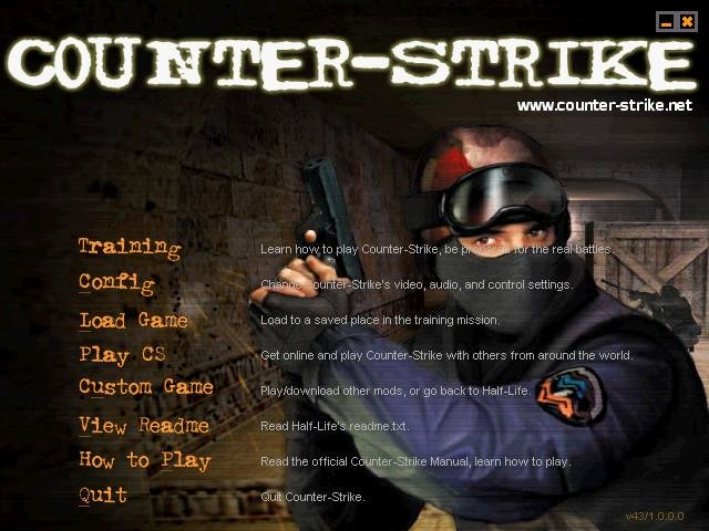 half life counter strike retail 2000 pc review and full