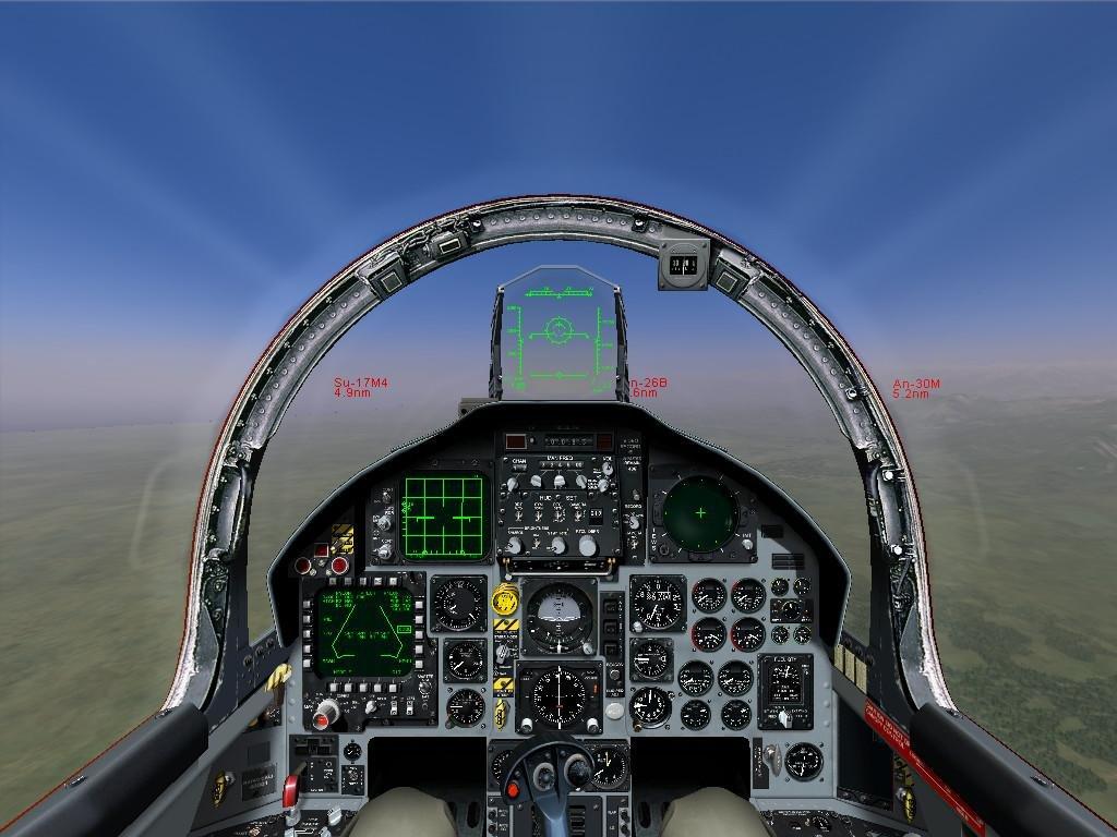 Air combat video game with joystick bike
