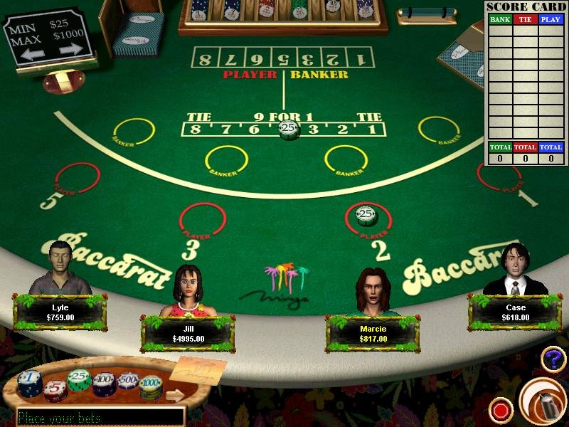 Play Free Casino Games Download Games
