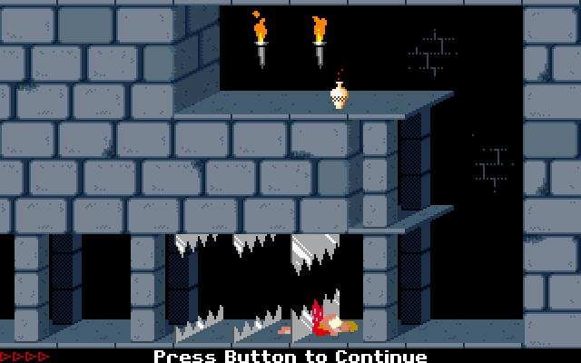 Prince Of Persia 1989 Pc Review And Full Download Old Pc Gaming