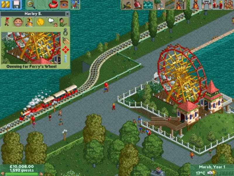 Rollercoaster tycoon 2 download full game free pc