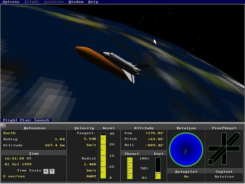 space shuttle simulator pc - photo #36