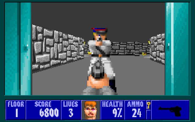 Wolfenstein 3-d (dos) 1992 download and play it windows 10/8/7.