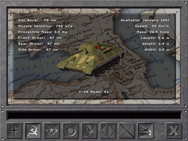 Panzer Commander (1998) - PC Review and Full Download | Old PC Gaming