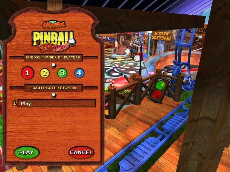 3d ultra pinball thrillride gratis