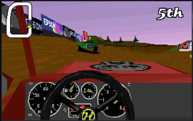 Big red racing 1995 pc review and full download old for Big red racing
