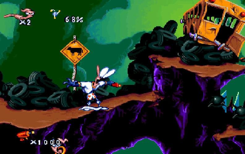 Earthworm Jim (1995) - PC Review and Full Download   Old PC Gaming