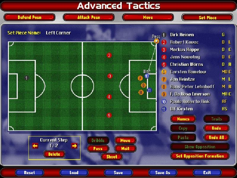 Ultimate Soccer Manager 98 - PC Review and Full Download