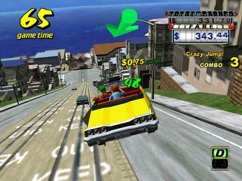 crazy taxi pc review and full download old pc gaming. Black Bedroom Furniture Sets. Home Design Ideas