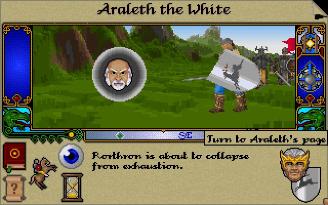 Lords of midnight 3: the citadel download (1995 role playing game).