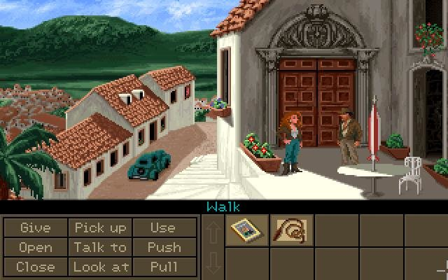 Indiana Jones Fate of Atlantis (1992) - PC Review and Full