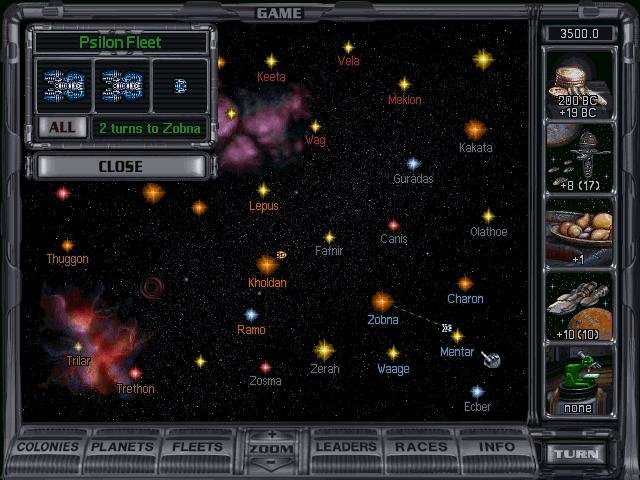 Master of orion ii: battle at antares game download.