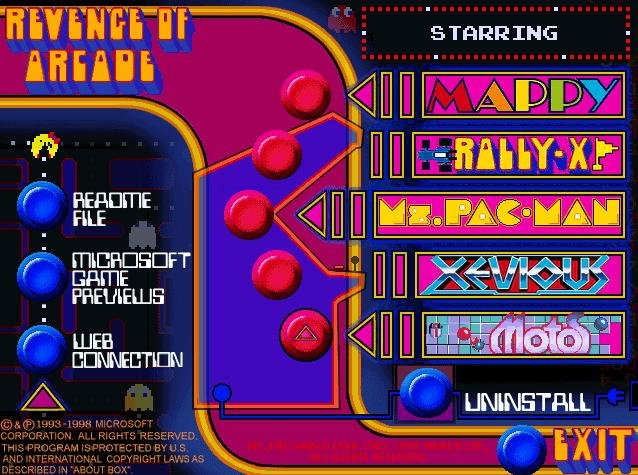 Revenge Of Arcade Pc Review And Full Download Old Pc Gaming
