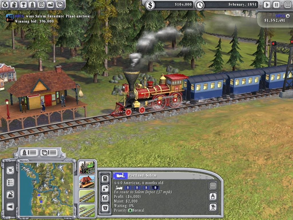 Sid Meier's Railroads! - PC Review and Full Download | Old